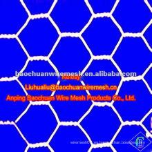 Malla de alambre hexagonal de pollo galvanizado en caliente