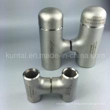 Raccords de tuyauterie raccords de soudure bout à bout en té en acier inoxydable (KT0379)
