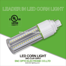 Energy saving 360 degree 12w G24d,G24q base corn cob bulb light/lamp compatible with all kinds of holders