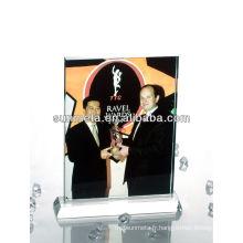 Sunmet sublimation crystal photo frame souvenir gift --- fabricant