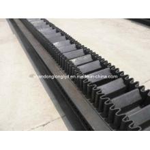 Rubber Raised Edge Conveyor Belt (polyester/EP)