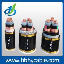 Câble armé gainé d'insulation de 10 / 20KV XLPE