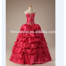Vestido de noiva 2017 vestido de baile mais novo projeto vestido de baile vestido de baile vermelho halter nupcial vestido de baile vestidos de casamento