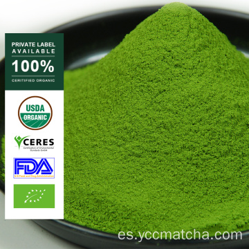 Etiqueta privada al por mayor Green Tea Matcha Powder