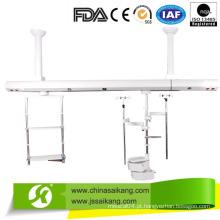 Pingente de teto para ponte médica (áreas molhadas e secas separadas)