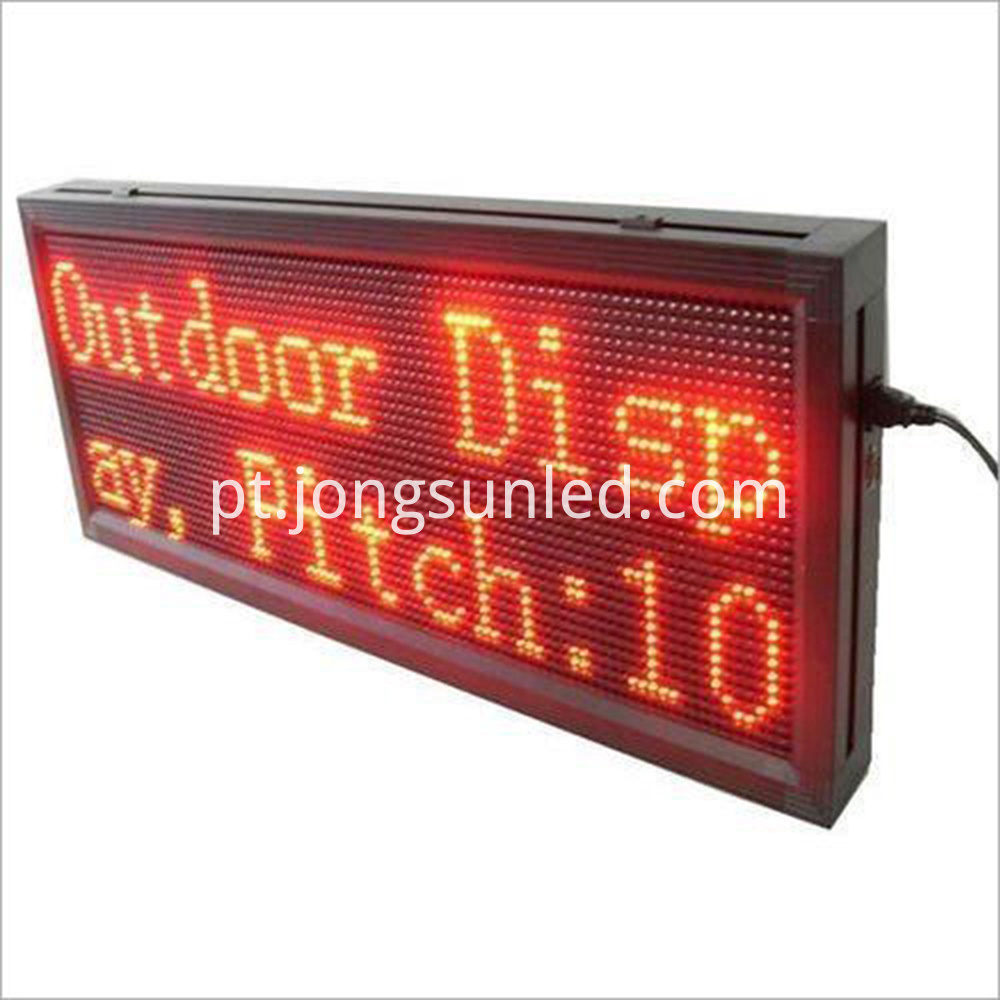 Led Message Display 10