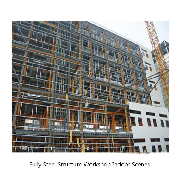 Fully Steel Structure Workshop Indoor Scenes 1