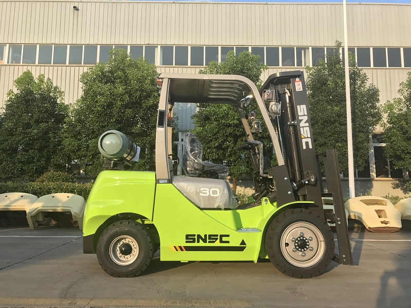 4pcs 3t gas forklift to MEXICO from sheri (13)