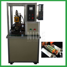 Armature commutator spot welding machine for rotor