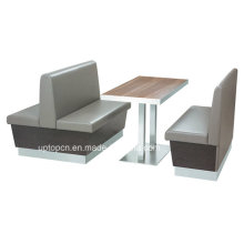Simple Comfortable Restaurant Cafe Table and Chair Set (SP-CT650)