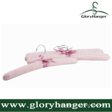 Simple Satin Padded Hanger with Matel Hook