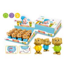 Regalo promocional juguete de plástico de liquidación elefante de dibujos animados (h0278048)