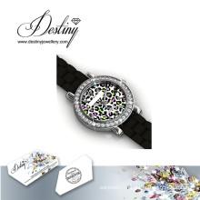 Судьба ювелирные изделия кристалл из Swarovski красочные часы