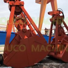 Four Rope Mechanical Grab Clamshell Grab for Bulk Cargo
