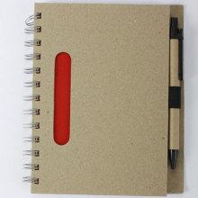 Big Grey Eco-friendly Notebook