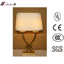 Hotel Vintage Iron Bedside Table Lamp & Decorative LED Lighting