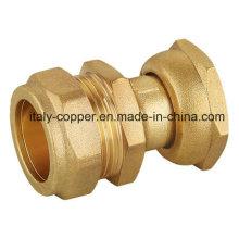 Forged Brass Nickel Quick Coupling (AV7018)