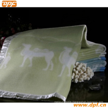 Shanghai DPF Textile Co. Ltd High Quality Wool Blanket
