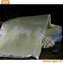 Shanghai DPF Textile Co. Ltd Cobertores de lã de alta qualidade