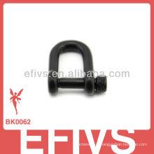 Fivela de liberação lateral de metal nova moda para pulseira paracord