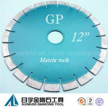 "GP tecnologia sofisticada de 12 ""* 20mm Diamond disco de corte"