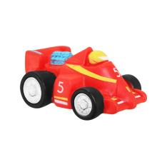 Carro vermelho para crianças, fazer o seu próprio brinquedo de vinil, promoção profissional de vinil de brinquedo