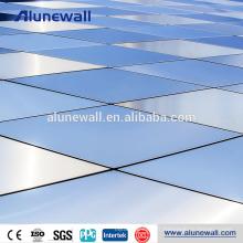 Vente chaude isolée NANO revêtement alucobond aluminium panneau composite prix