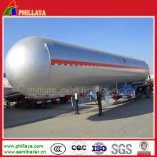 Reboque de 3 eixos do tanque do LPG semi
