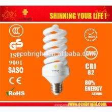 CHAUD! 12MM 45W 5500K SPIRALE CFL AMPOULES POUR STUDIO 10000H CE QULITY