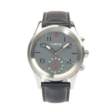Luxury leather watch straps wholesale smart wrist watch with man