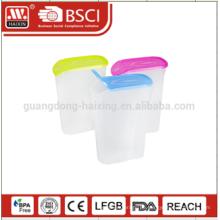 günstige Küche Verwendung Lagerung Glas farbige Kanister set