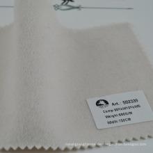Klassischer weißer doppelseitiger Wollstoff gemischt Kaschmir schön und warm