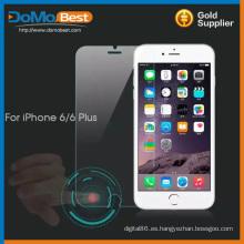 Protector de pantalla de cristal templado inteligente directamente de fábrica para el iphone 6