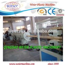máquinas de produção de tubos de PVC plástica PVC linha