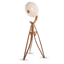 E27 60W Wooden Stand Floor Lighting (LBMD-QF)