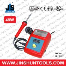 JS1104HT temperatura ajustable 48W JS1104HT del control de la temperatura del elemento de calefacción de la estación de la reanudación de JS