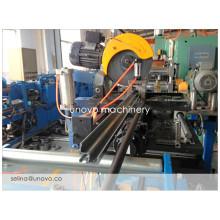 steel metal nine folding profile manufacturing machine