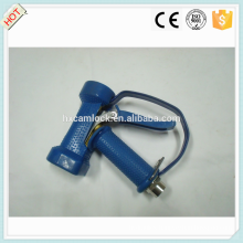 Blue cover brass heavy duty water gun with trigger guard