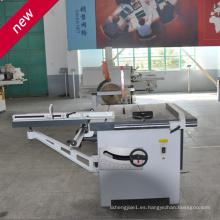 Longitud de trabajo 3.2m Máquina de sierra de mesa deslizante Sierra de panel Maquinaria de carpintería