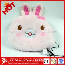 VENTA CALIENTE ayuda suave que duerme la almohadilla rosada preciosa del altavoz del conejo