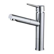 Pull out Brass Kitchen Sink Faucet and Tap