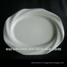 New Design, Five Star Hotel Supplies flat plate P0571