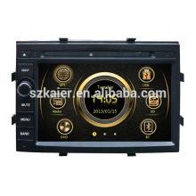 7 pouces HD voiture multimédia central pour Chevrolet Cobalt avec GPS / Bluetooth / Radio / SWC / Internet virtuel 6CD / 3G / ATV / iPod / DVR