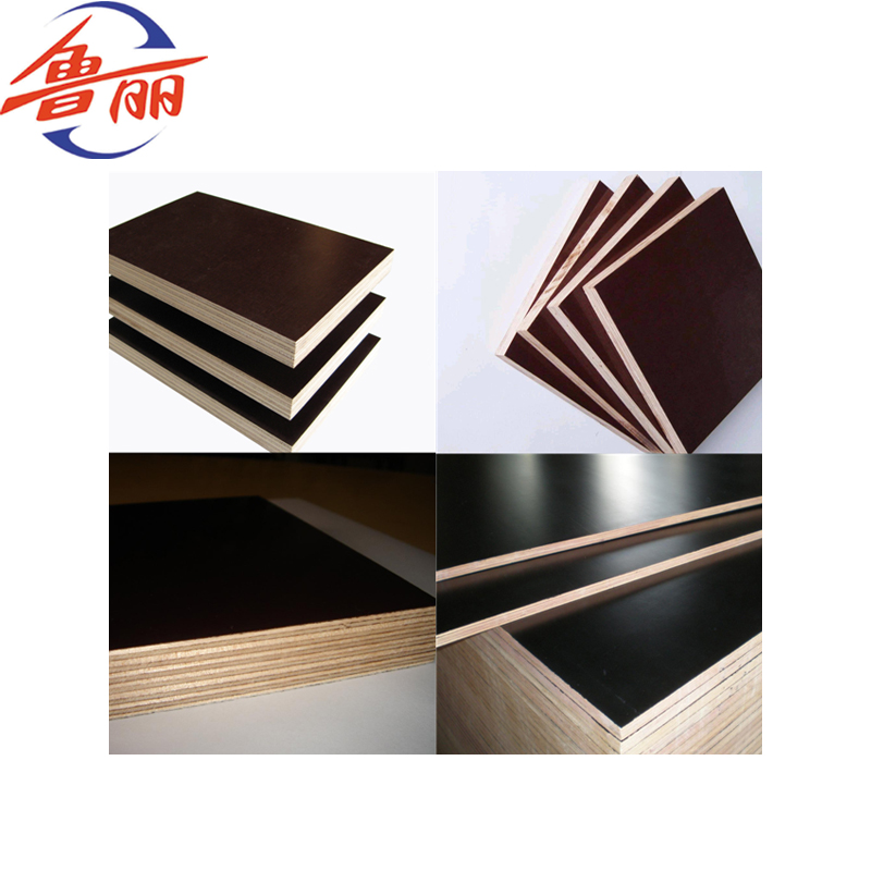 18mm Black Brown Color Film Faced Plywood