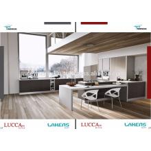 Armário de cozinha luxuoso industrial de luxo New Made Luxury com preço Afforable