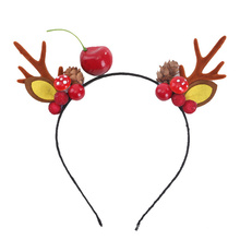 Hair Clips Hair Accessories Pins With Antler Head Buckle Christmas Decorations Women Dress Supplies for Party