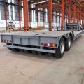 2Axles انفصال Gooseneck Low Bed مقطورة