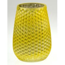 Желтый подсвечник с ананасом (DRL15039)