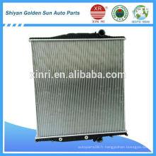Radiateur à noyau en aluminium à haute performance pour volvo 20810091