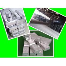 ¡Fábrica! Lingote de aleación de arsénico puro primario / refundido / refinado 99.994%